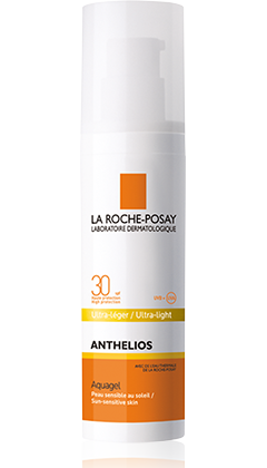 La Roche-Posay Anthelios Aquagel Spf 30 Aντιηλιακό Gel Λεπτόρευστης Υφής Για Το Πρόσωπο Αδιαβροχο 50ml