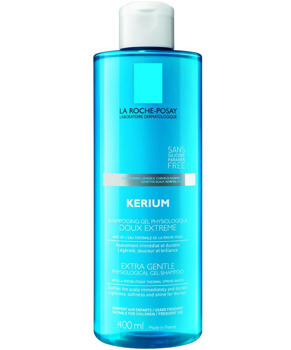 La Roche-Posay KeriumExtra Gentle Gel Shampoo για Kανονικά Μαλλιά 400ml