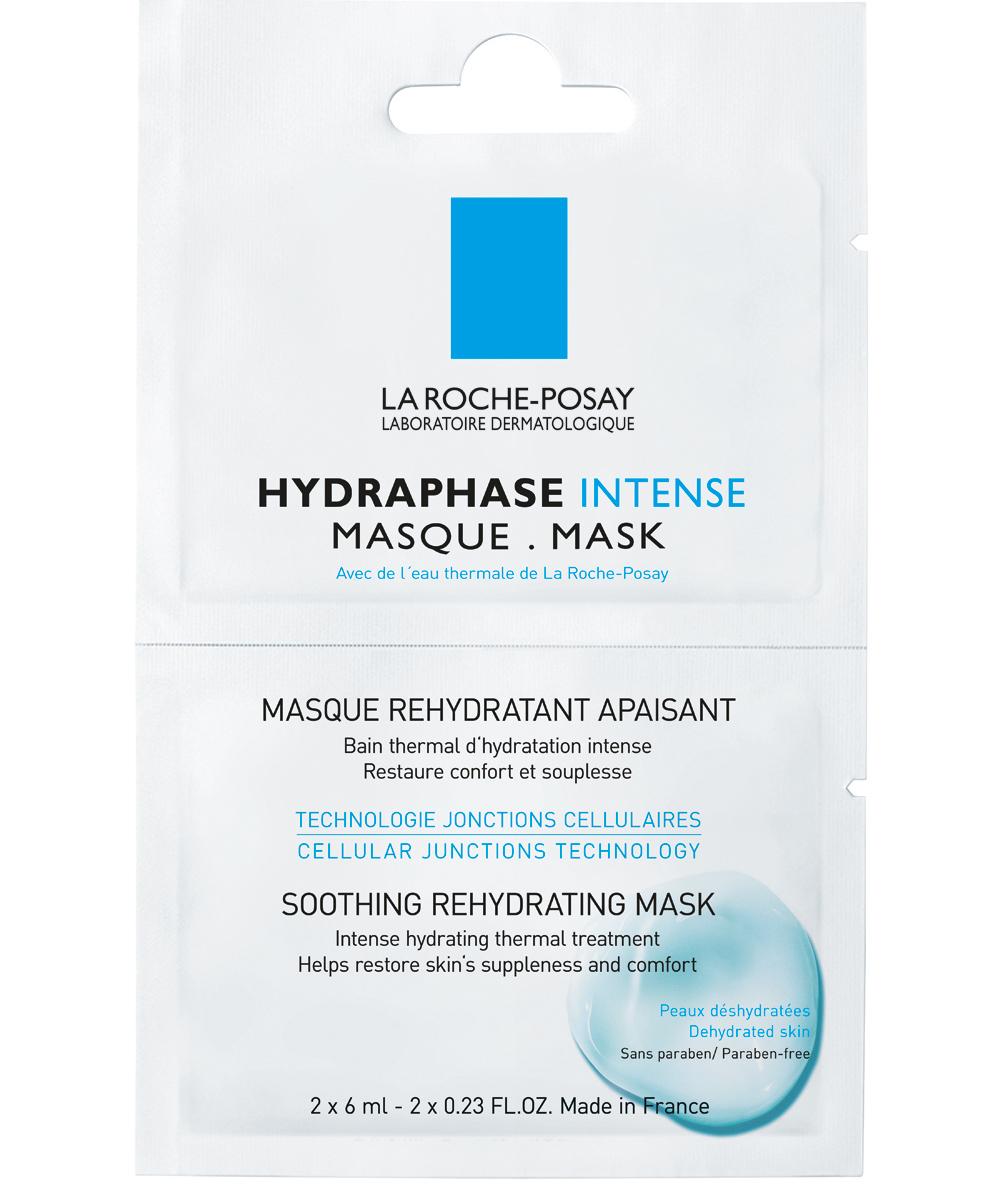 La Roche-Posay Hydraphase Intense Masque Καταπραϋντική Μάσκα Ενυδάτωσης2 Μονοδόσεις x 6 ml