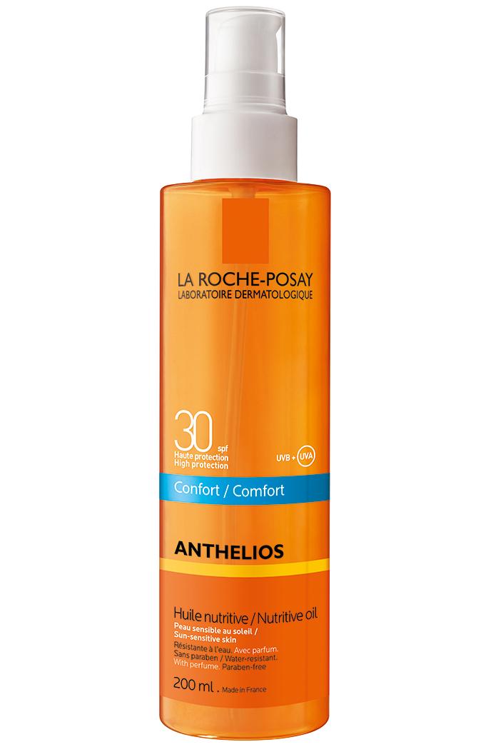 La Roche-Posay Anthelios Comfort XL Nutritive Oil Spf30 Αντηλιακό Αόρατο Θρεπτικό Λάδι για Πρόσωπο & Σώμα 200ml