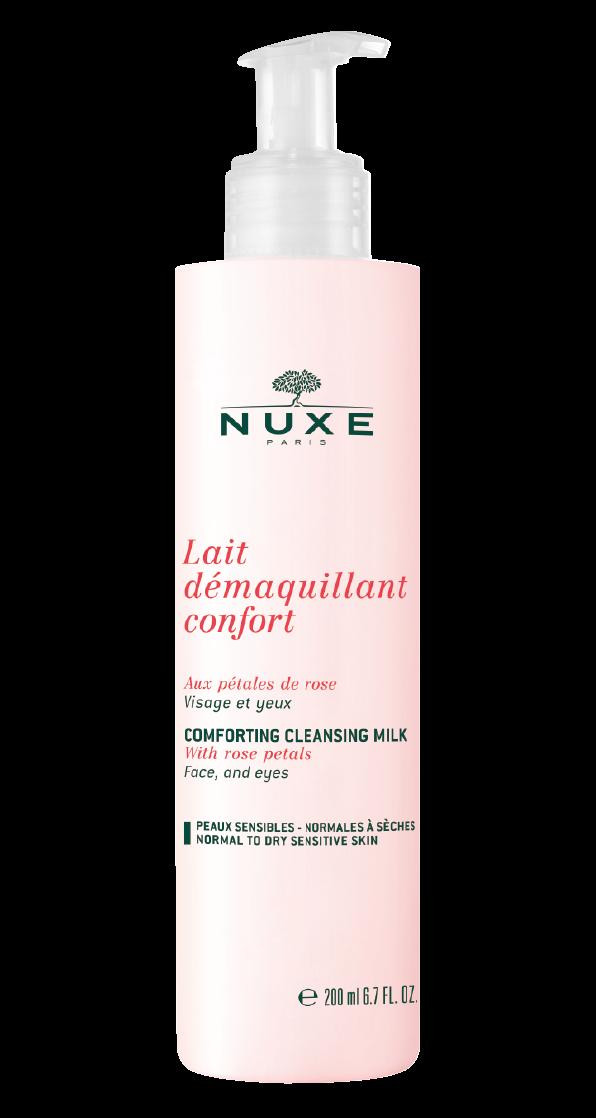 Νuxe Lait Demaquillante with Rose petals – Γαλάκτωμα Καθαρισμού με Ροδοπέταλα 200ml