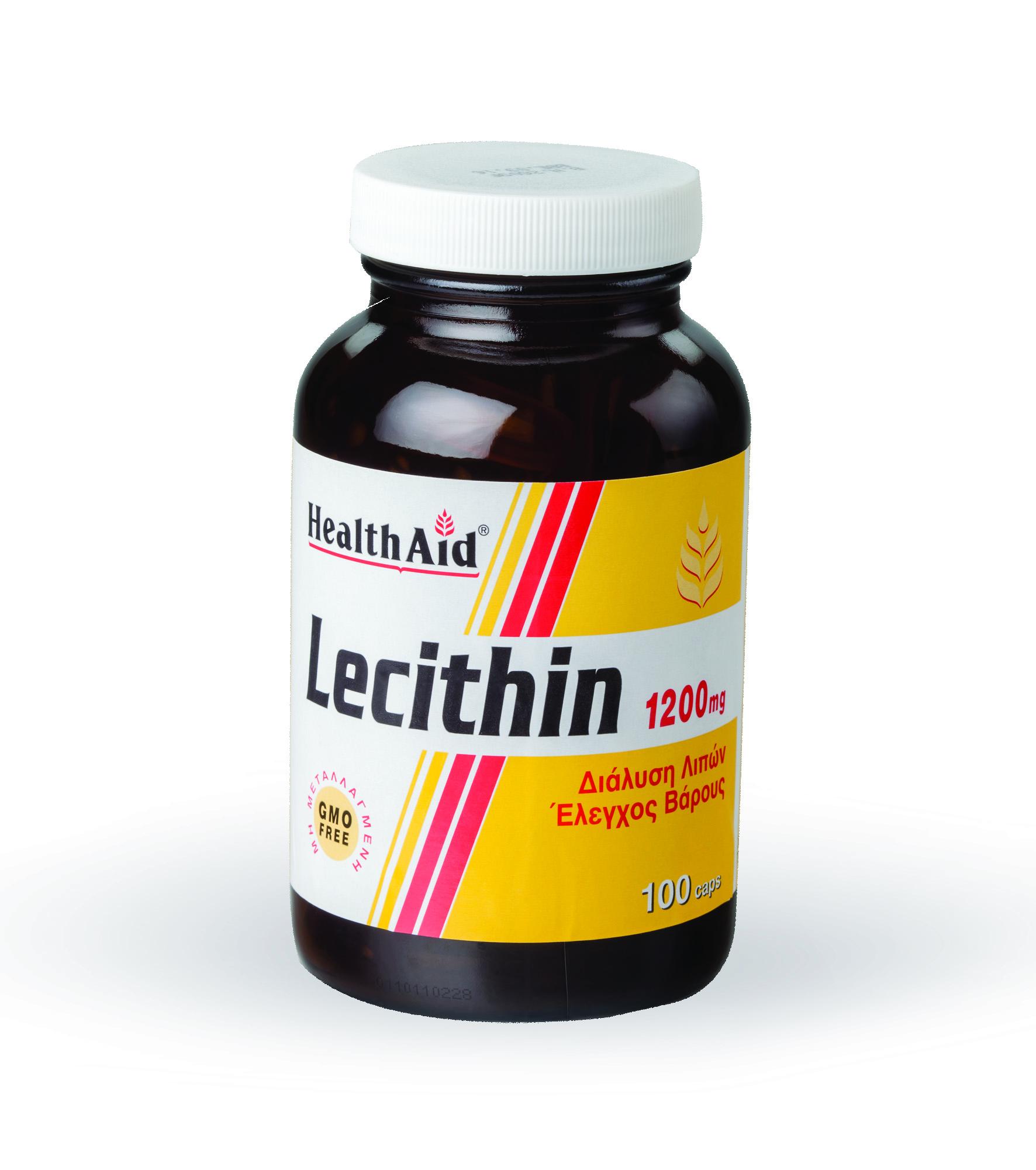 Health Aid Super Lecithin Ισχυρό Αντιοξειδωτικό 1200Mg – 100 tabs