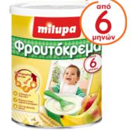 Milupa Κρέμα Με 4 Φρούτα 300 gr μητέρα παιδί   διατροφή   βρεφικές κρέμες και βιολογικές τροφές