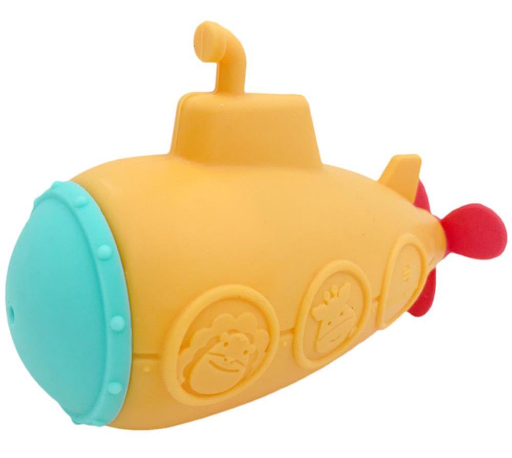 Marcus & Marcus Silicone Bath Toy Submarine Squirt 18m+ Παιχνίδι Μπάνιου Υποβρύχιο