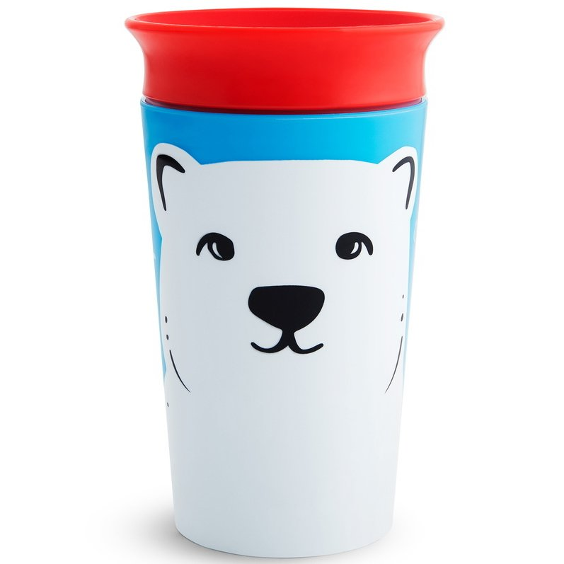 Munchkin Miracle 360 Sippy Cup, Polar Bear Cup 12+, 266 ml