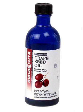 Macrovita Σταφυλοκουκουτσέλαιο Ενισχύει Την Παραγωγή Κολλαγόνου 100ml
