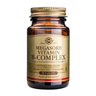 Solgar Megasorb B Complex '50' 50tablets