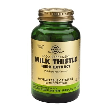 Solgar Sfp Milk Thistle Herb Extract 60veg.caps