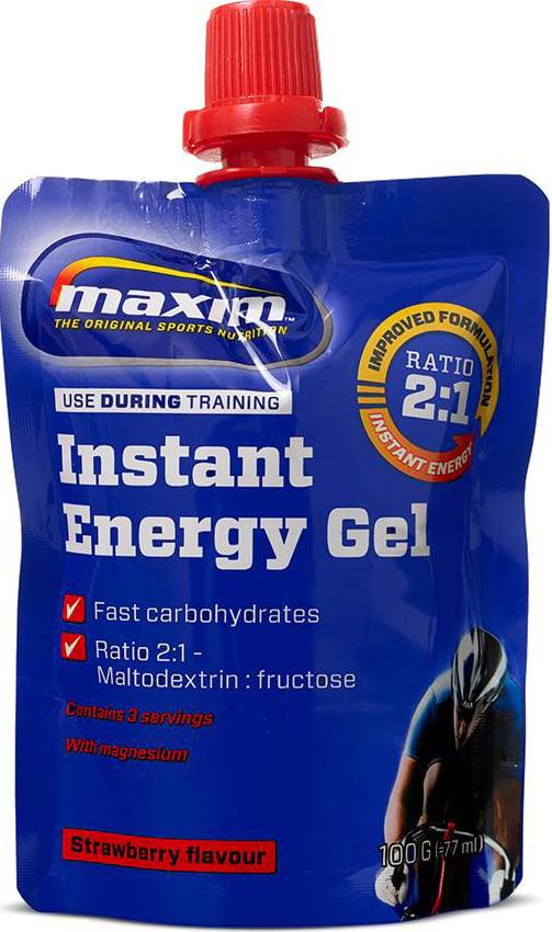 Maxim Energy Gel Με Υψηλή Περιεκτικότητα σε Υδατάνθρακες 100g – Strawberry