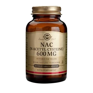 Solgar NAC (N-Acetyl-Cysteine) 600mg 60veg.caps