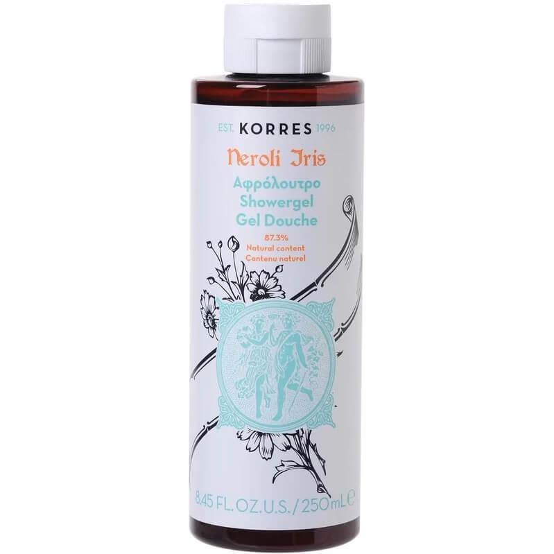 Korres Showergel Neroli IrisΑφρόλουτρο με Άρωμα Πούδρας Από Μπουκέτα Ίριδας 250ml