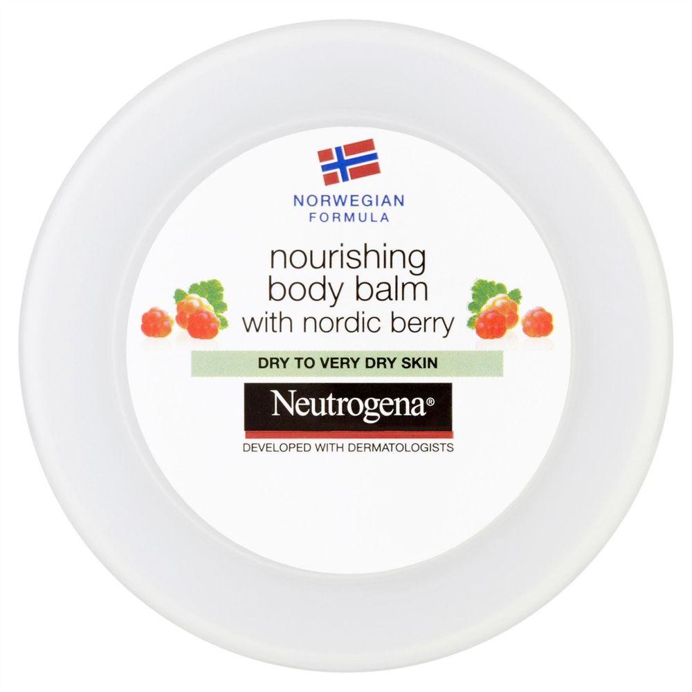 Neutrogena Nourishing BodyBalmΘρεπτικήΚρέμα Σώματος με Nordic Berry για Ξηρή Επιδερμίδα 200mlPromo -30%