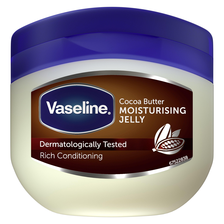 Vaseline Cocoa Butter Moisturising Jelly Βαζελίνη για το Δέρμα με Άρωμα Κακάο 100ml