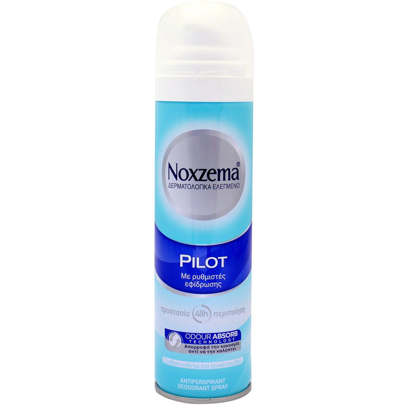 Noxzema Deodorant Pilot Spray Αρρενωπό Διακριτικό Άρωμα 150ml