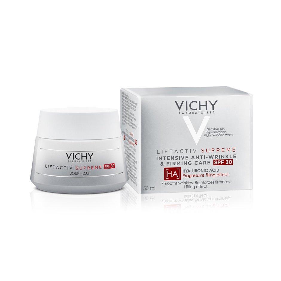 Vichy Liftactiv Supreme Anti-Rides HA Spf30 Κρέμα Ημέρας Αντιρυτιδική & Συσφικτική Φροντίδα με Υαλουρονικό Οξύ 50ml