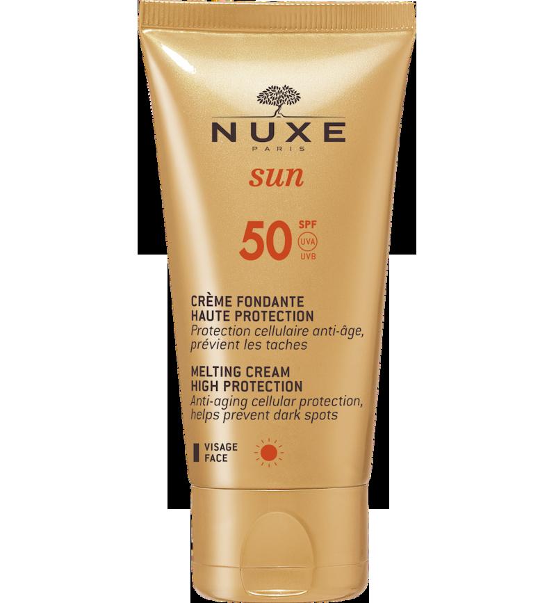 Nuxe Sun Face Cream Αντηλιακή Κρέμα Προσώπου Spf50 50ml