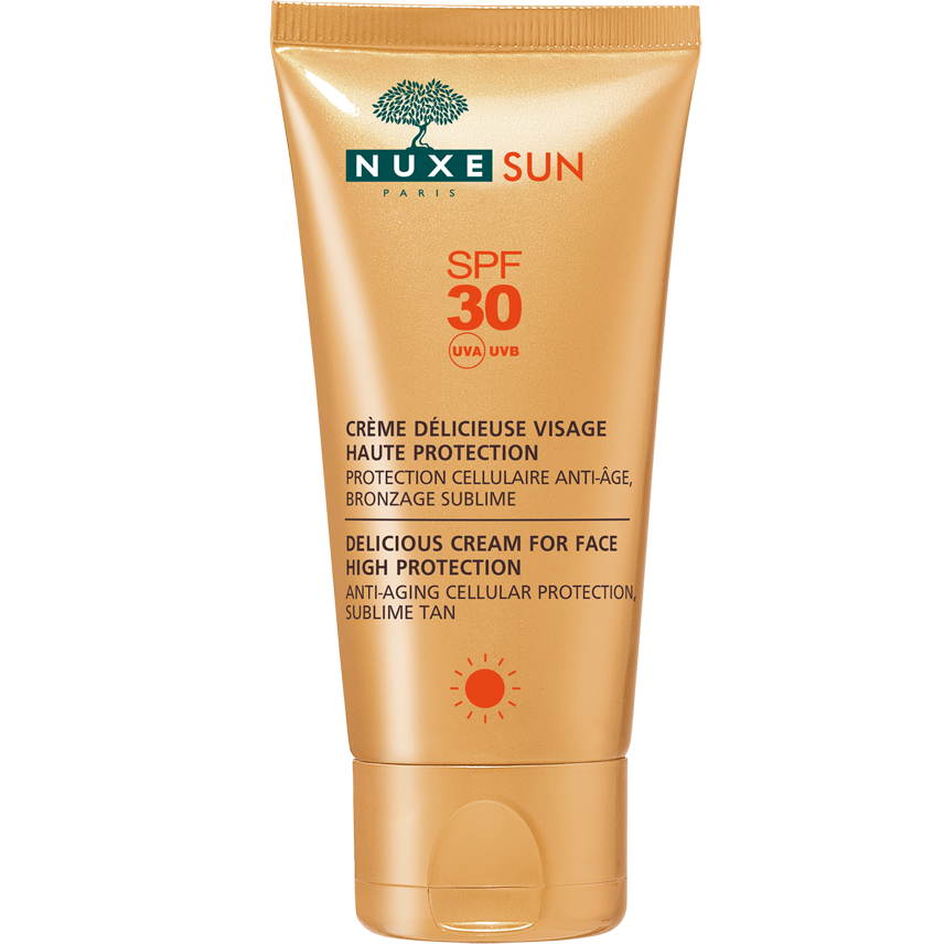 Nuxe Sun Face Cream Αντηλιακή Κρέμα Προσώπου Spf30 50ml 8224