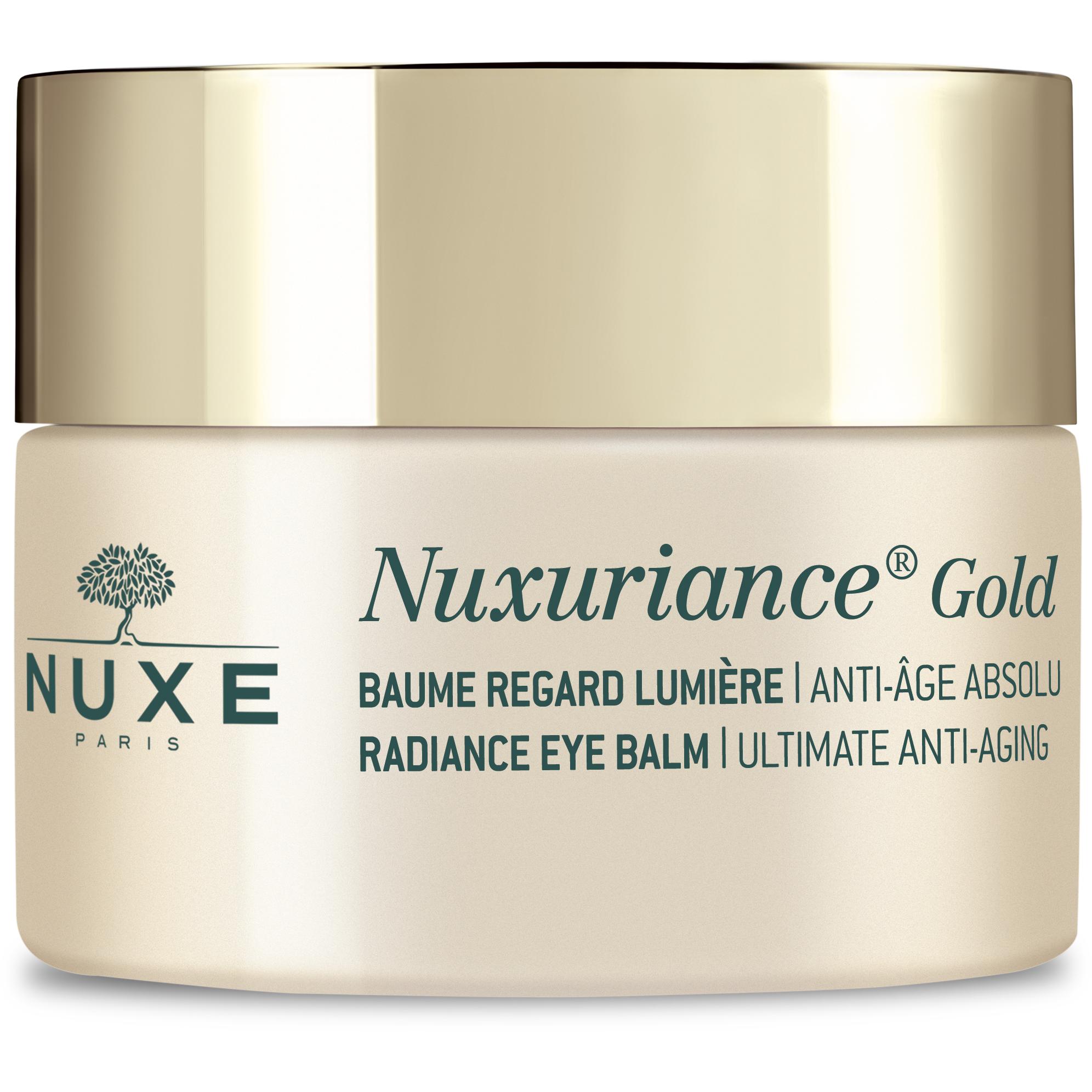 Nuxe Nuxuriance Gold Radiance Eye Balm Βάλσαμο Λάμψης, Θρέψης & Απόλυτης Αντιγήρανσης της Κουρασμένης Περιοχής των Ματιών 15ml