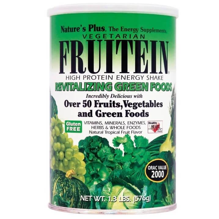 Natures Plus Fruitein Συμπλήρωμα Διατροφής Πρωτεϊνών με Φρούτα & Λαχανικά576gr