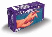 Neogloves Εξεταστικά Γάντια Latex – Χωρίς Σκόνη Medium 100τμχ