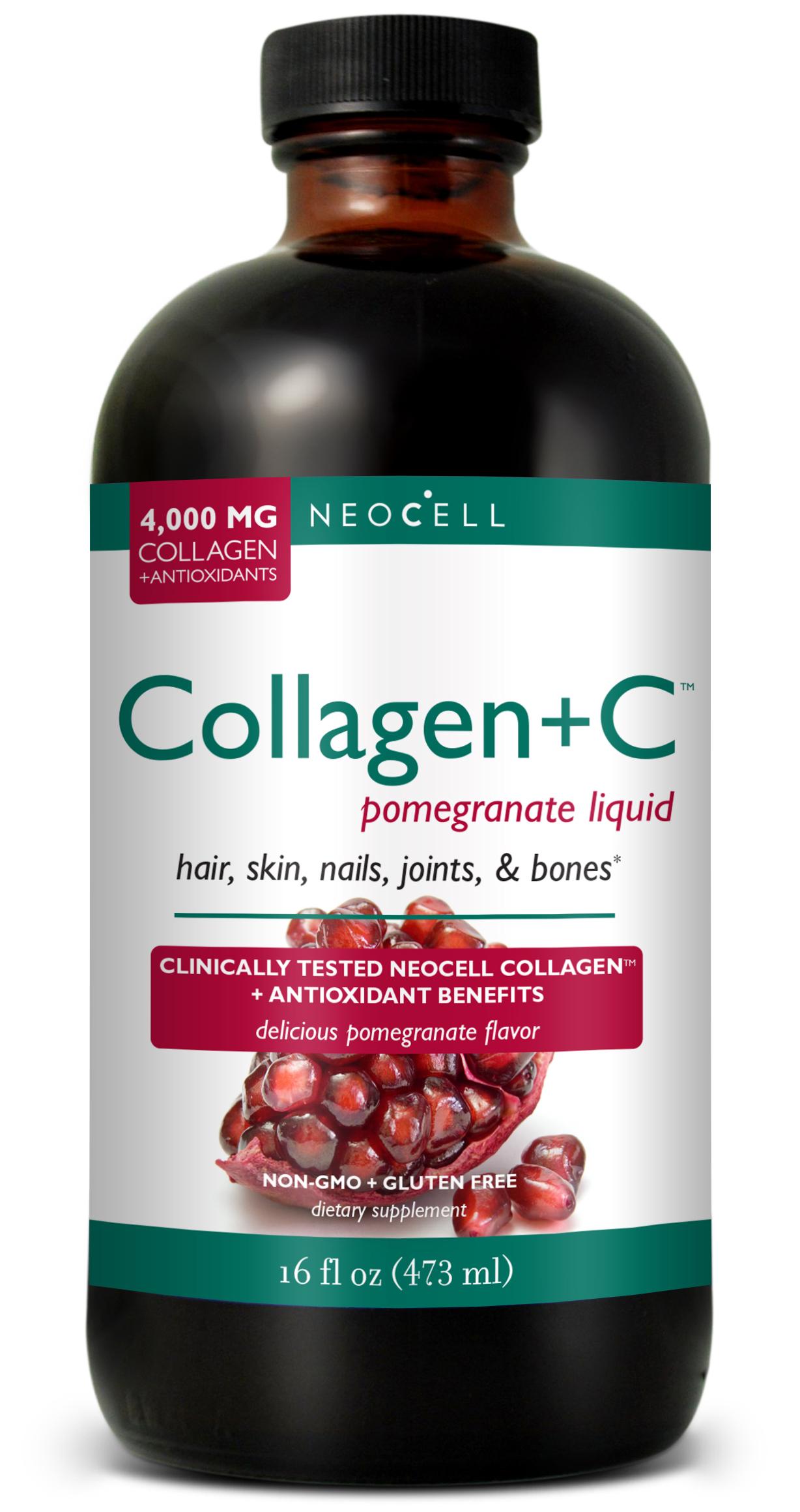 Neocell Super Πόσιμο Κολλαγόνο (Collagen) Με Βιταμίνη C Και Ρόδι 473ml