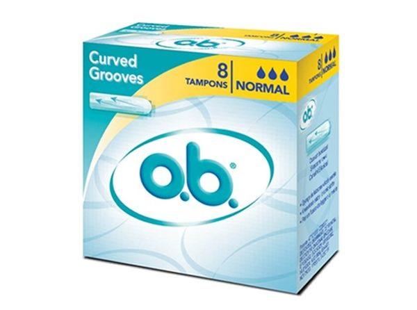 O.b. Οriginal Normal Ταμπόν για Ημέρες με Μικρή Έως Μέτρια Ροή 8 Τεμάχια