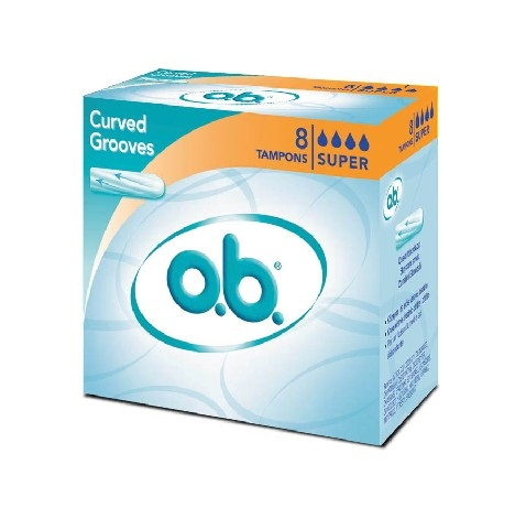 O.b. Original Super Ταμπόν για Ημέρες με Μέτρια Έως Μεγάλη Ροή 8 Τεμάχια