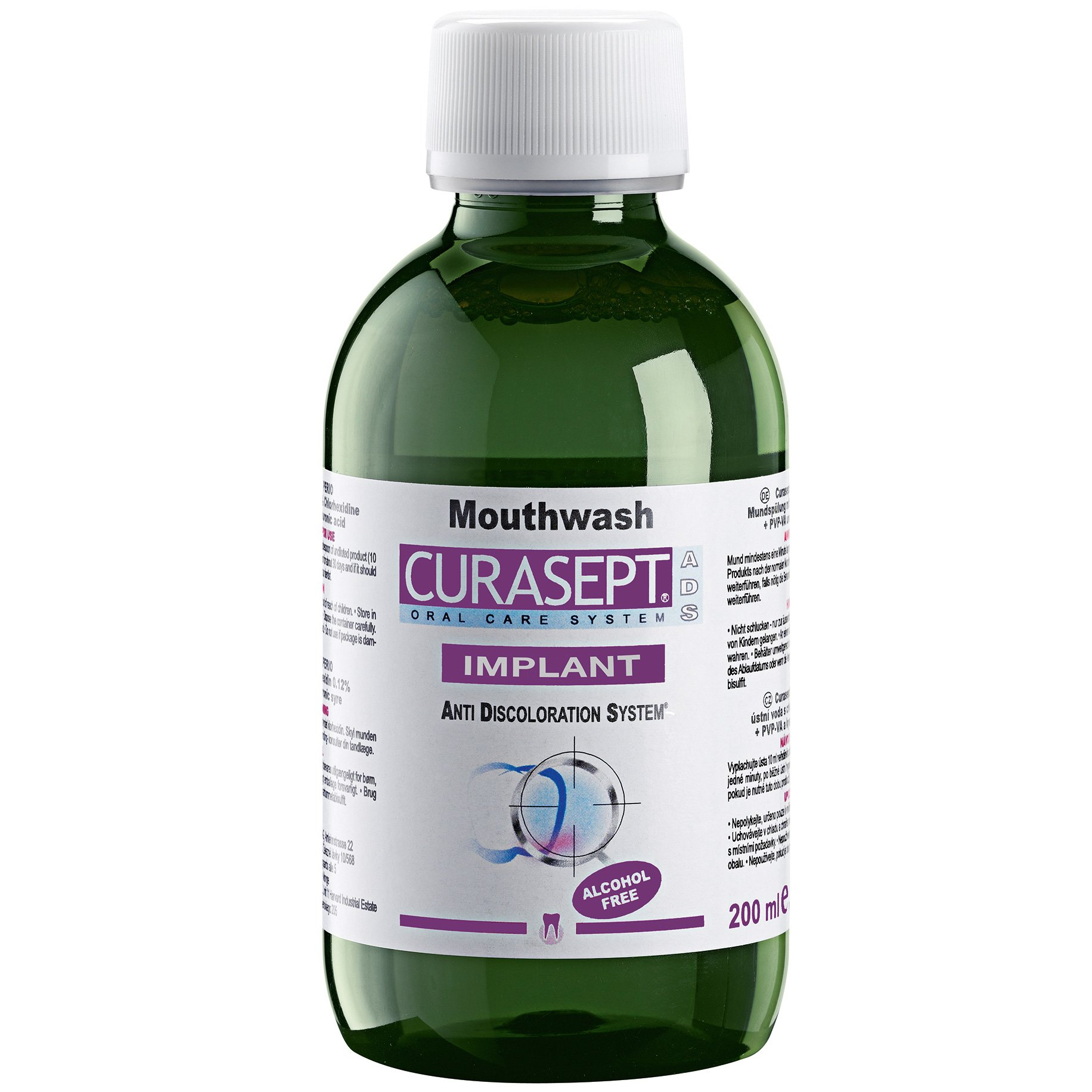 Curasept ADS Mouthwash Implant Στοματικό Διάλυμα Χλωρεξιδίνης 0.20% 200ml