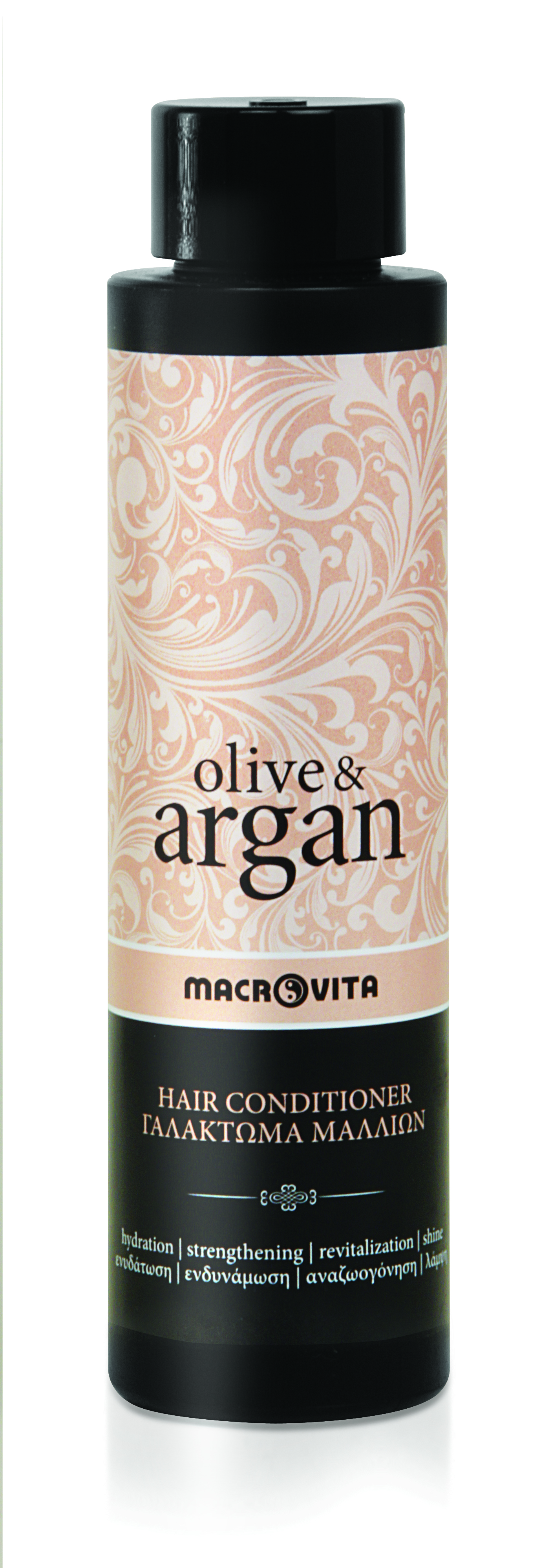 Macrovita Olive & Argan Hair Conditioner Γαλάκτωμα Μαλλιών 200ml