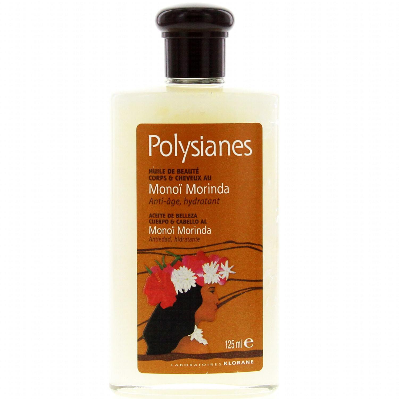 Polysianes Huile de Beaute Body & Hair with Morinda Monoï Έλαιο Ομορφιάς & Προστασίας από την Φωτογήρανση για Σώμα-Μαλλιά 125ml