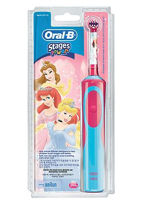 Oral-B Ηλεκτρική Οδοντόβουρτσα Oral B Vitality Stages Princesses 3+ years