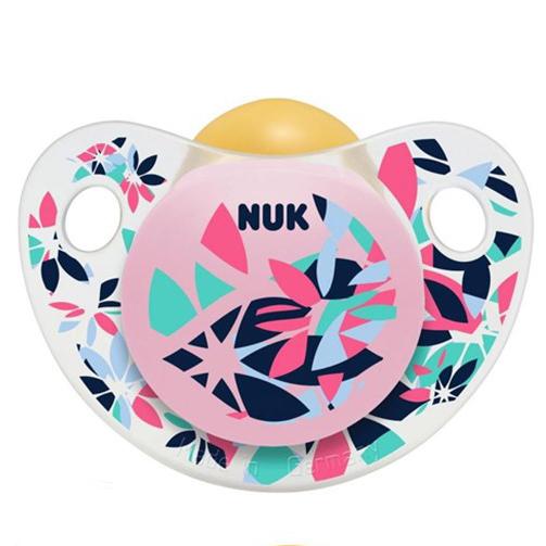 Nuk Trendline AdoreΠιπίλα Καουτσούκ Χωρίς BPA – Μέγεθος 3 (18-36 μηνών)