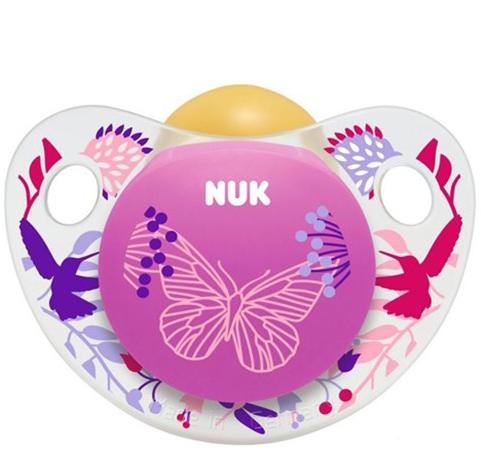 Nuk Trendline AdoreΠιπίλα ΚαουτσούκΧωρίς BPA – Μέγεθος 3 (18-36 μηνών)