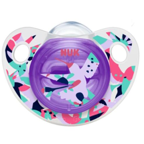 Nuk Trendline AdoreΠιπίλα Σιλικόνης Χωρίς BPA – Μέγεθος 1 (0-6 μηνών)