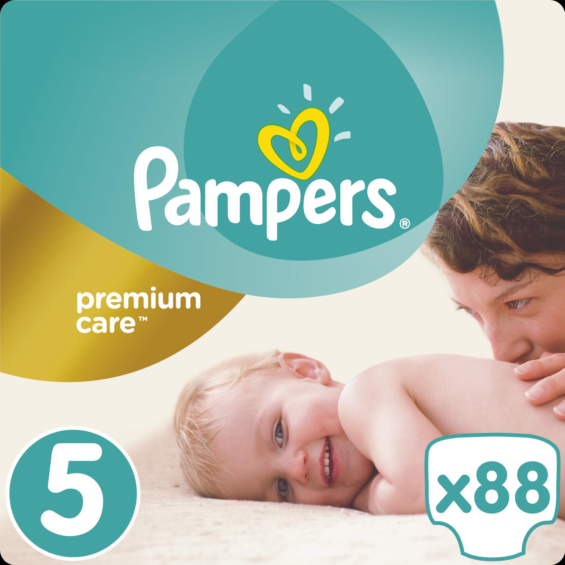 Pampers Premium Care No5 Maxi Plus (11-18kg) 88 πάνες μητέρα παιδί   περιποίηση για το μωρό   πάνες για το μωρό