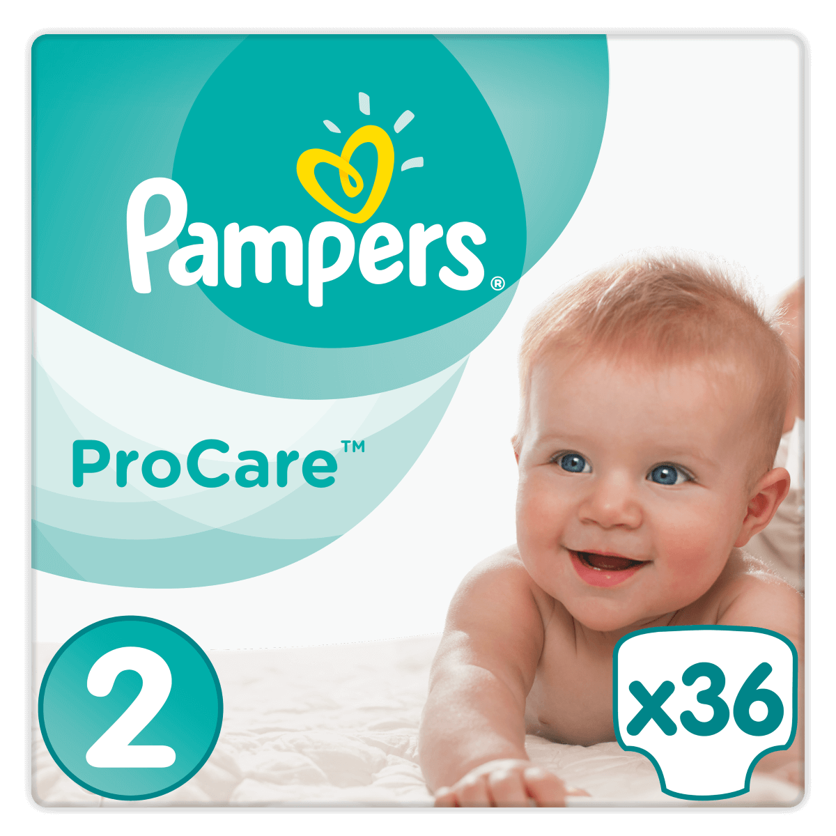 Pampers ProCare Premium Protection No2 (3-6kg) 36 πάνες  20315