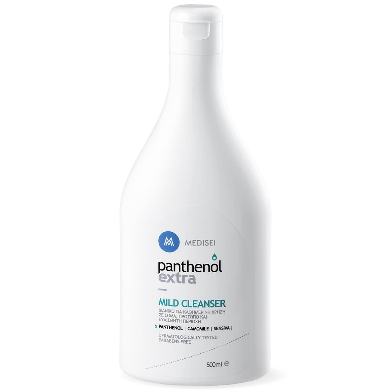Medisei Panthenol Extra Mild Cleanser Με Ουδέτερο PH 5,5 Ευαίσθητη Περιοχή 500ml