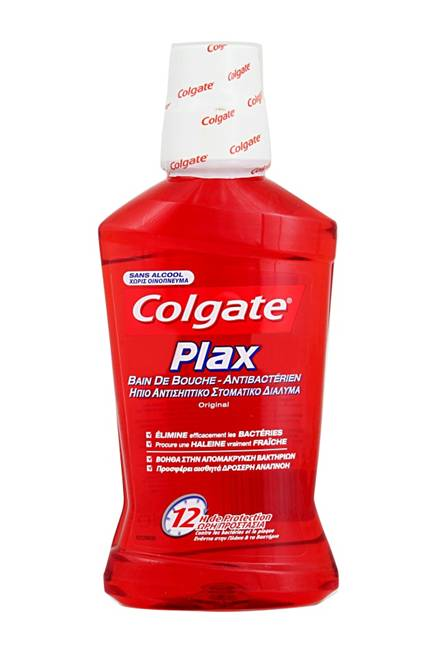 Colgate Plax Original Ήπιο Αντισηπτικό Στοματικό Διάλυμα Χωρίς Οινόπνευμα 250ml