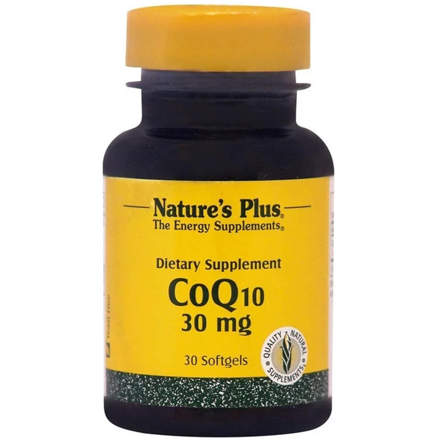 Natures Plus Coenzyme Q10 30mg Συμπλήρωμα Διατροφής Κατάλληλο για Παραγωγή Ενέργειας & για Καρδιαγγειακές Παθήσεις 30softgels