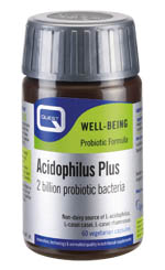 Quest Acidophilus Plus Ρύθμιση Της Λειτουργίας Του Εντέρου 60caps