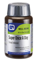 Quest Super Once a day, Multivitamins with Antioxidants & chelated minerals 30 tabs