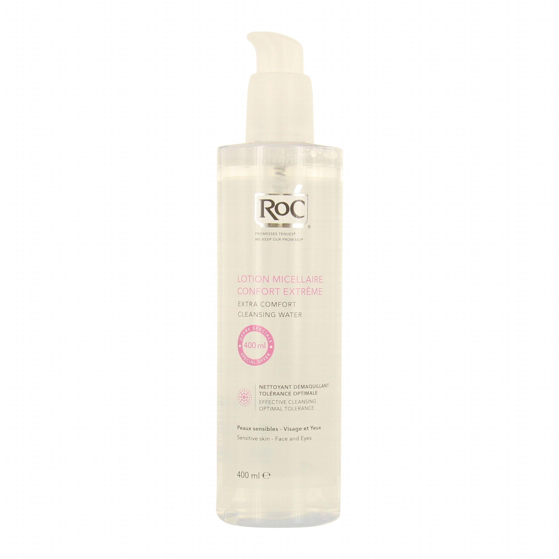 Roc Lotion Micellaire Comfort Extreme Απαλό Νερό Καθαρισμού & Ντεμακιγιάζ Προσώπου Ματιών 400ml Promo -20%