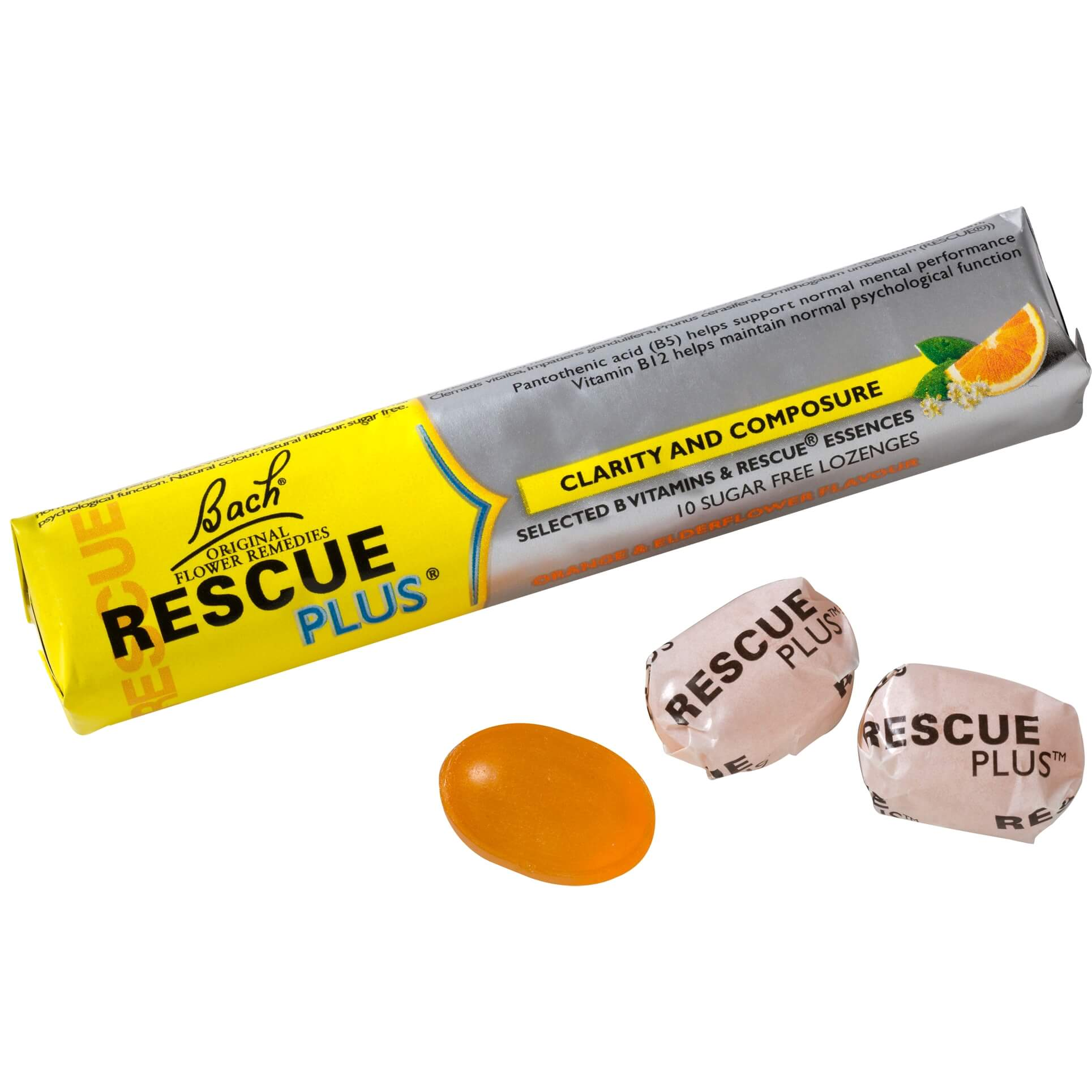 Power Health Rescue Plus Καραμέλες 10 Τεμάχια