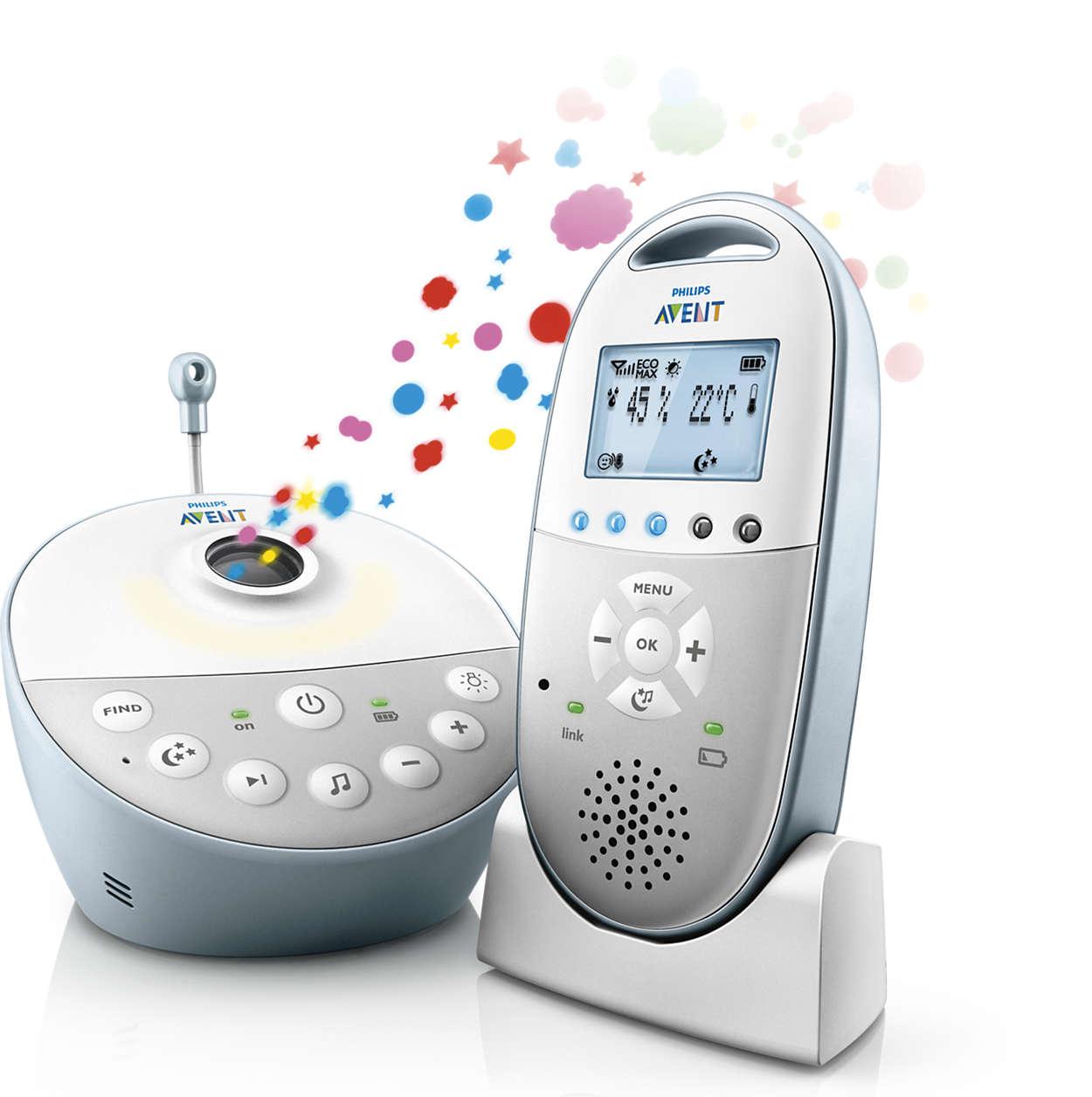 Avent Dect Συσκευή Παρακολούθησης Μωρού (Προβολή Σχεδίων) μητέρα παιδί   αξεσουάρ και παιχνίδια   ενδοεπικοινωνία   αποστειρωτές