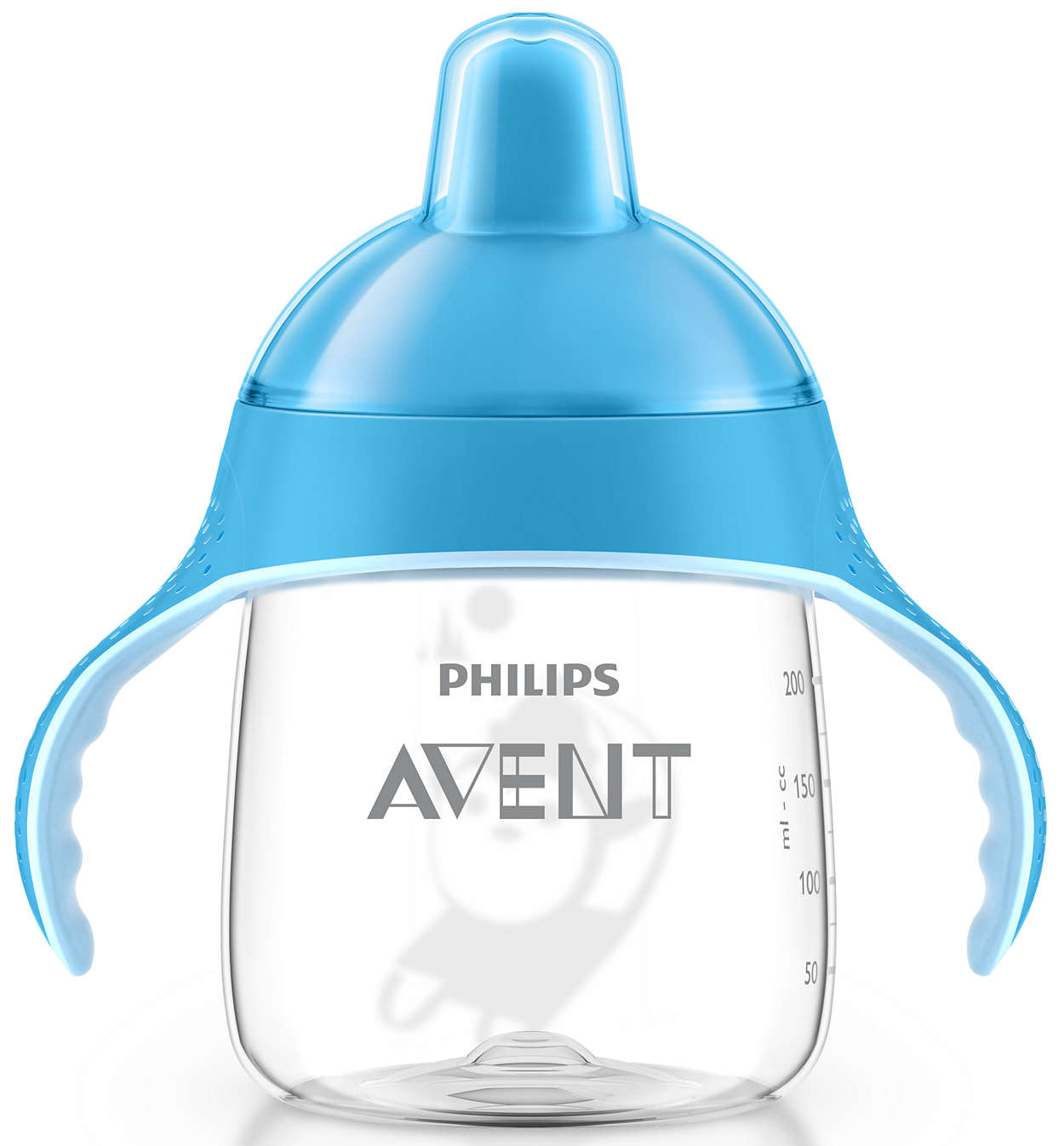 Avent Κύπελλο με Λαβές και Στόμιο Πλαστικό απο 12 Μηνών+ 260ml 1τεμάχιο SCF753 – μπλέ