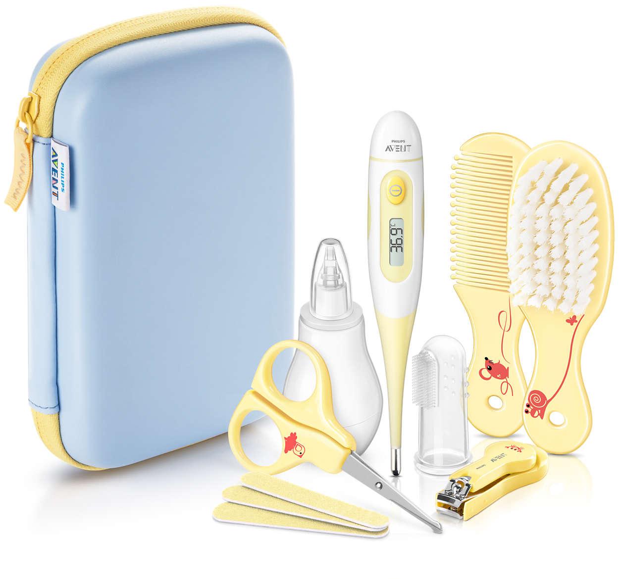 Avent Σετ Περιποίησης Μωρού SCH400/00 φαρμακείο   πιεσόμετρα   θερμόμετρα   ηλεκτρικές συσκευές   θερμόμετρα