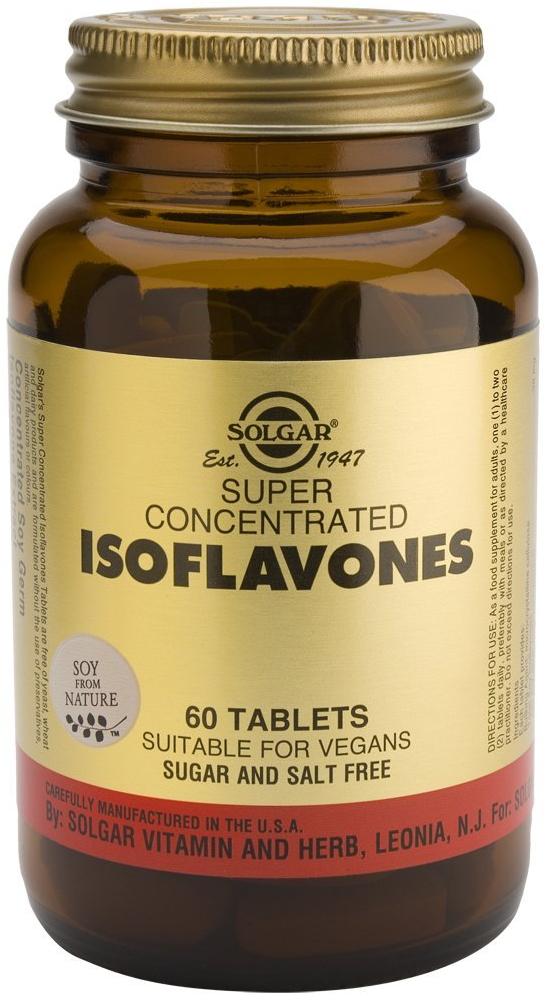 Solgar Isoflavones Ισχυρά Αντιοξειδωτικά, Εμποδίζουν Τη Συσσώρευση Αιμοπεταλίων Και Το Σχηματισμό Θρομβώσεων tabs – 60 tabs