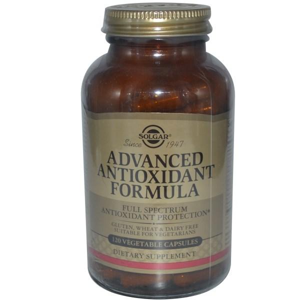 Solgar Advanced Antioxidant Formula Συμπλήρωμα Διατροφής για την Προστασία των Υγιών Κυττάρων του Οργανισμού veg.caps – 30 caps