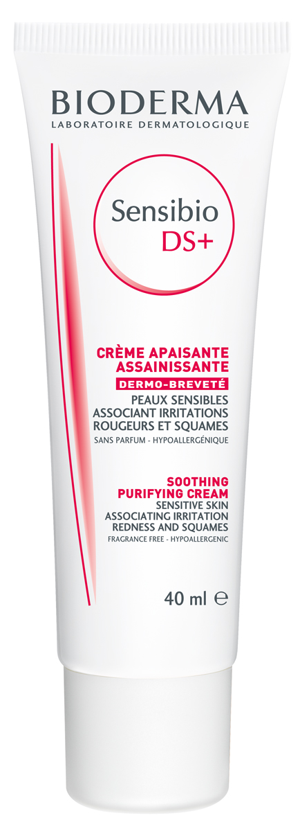 Bioderma Sensibio Ds Plus Creme – Κρέμα Περιποίησης για Επιδερμίδες με Λιπαρότητα και Απολέπιση 40ml