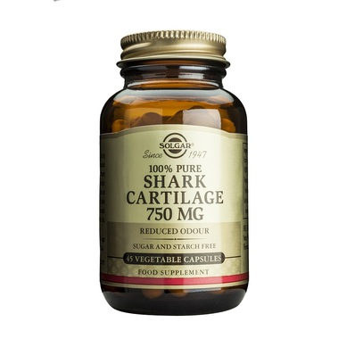 Solgar Shark Cartilage 750mg veg.capsules – 180 caps